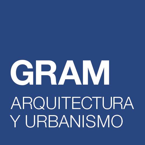 Imagen del logotipo de la empresa de arquitectura GRAM ARQUITECTURA Y URBANISMO