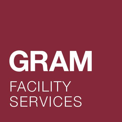 Imagen del logotipo de la empresa de catering GRAM FACILITY SERVICES