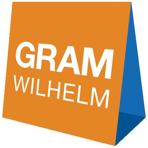 Imagen del logotipo de la empresa de eventos GRAM WILHELM