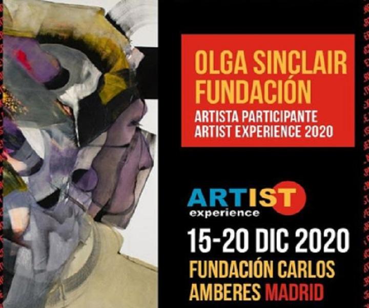 Exposición colectiva de la nueva colaboradora Olga Sinclair