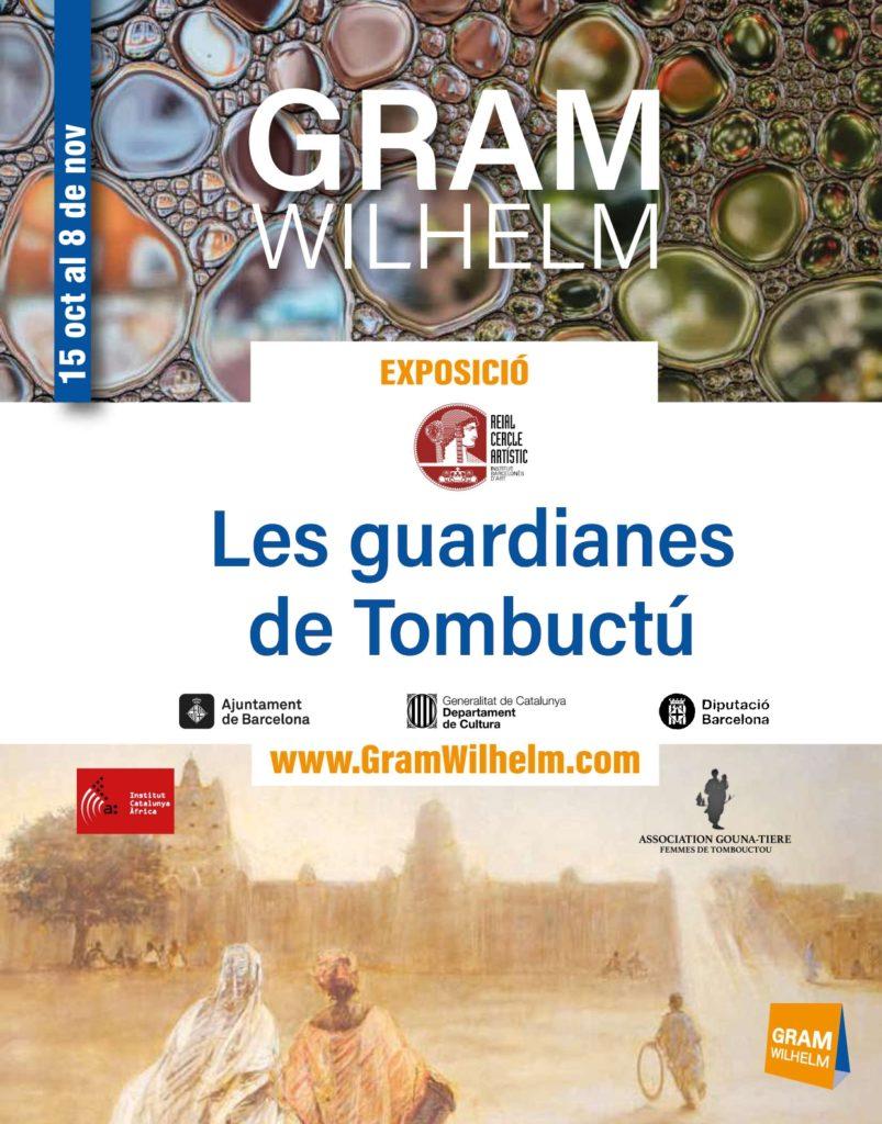 Les guardianes de Tombuctú_exposición 15 de octubre a 8 de noviembre 2020