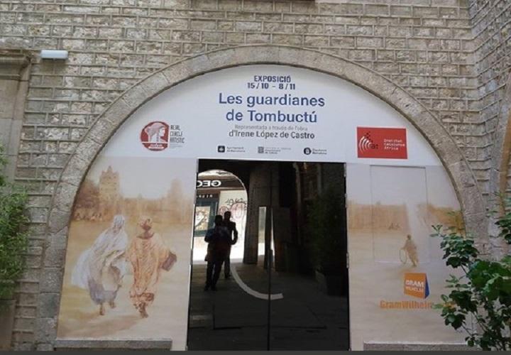 arco exposicón_les guardianes de Tombuctú_Barcelona_Gram Wilhelm