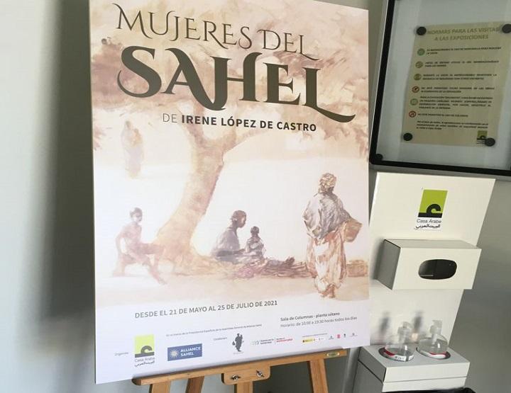 """exposición """"Mujeres del Sahel"""""""