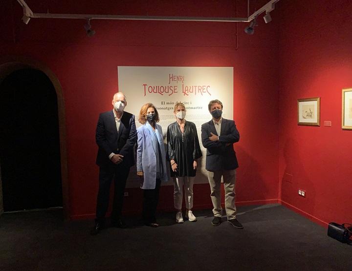 Visita inauguración de la exposición Toulouse-Lautrec