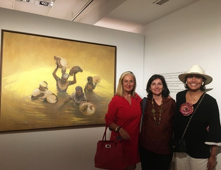 """Visita exposición """"Mujeres del Sahel"""""""